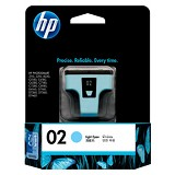 HP Light Cyan Ink Cartridge 02 [C8774WA]